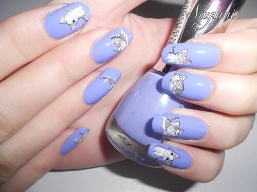 Nail Art WD Chatons mignons ♥