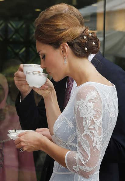 Kate et William chez le Haut Commisaire
