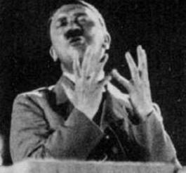 Il avait écrit : Hitler m'a dit. Il sera contraint de fuir l'Allemagne nazie