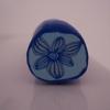 1ère cane fleur bleue