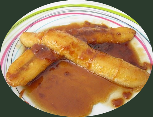 Recette de cuisine : Bananes flambées