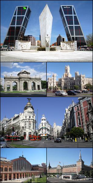 Blog de lisezmoi :Hello! Bienvenue sur mon blog!, L'Espagne : Madrid