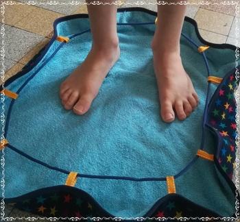 "Le sac de piscine ""pieds au sec"""