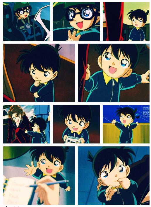 Shinichi bébé