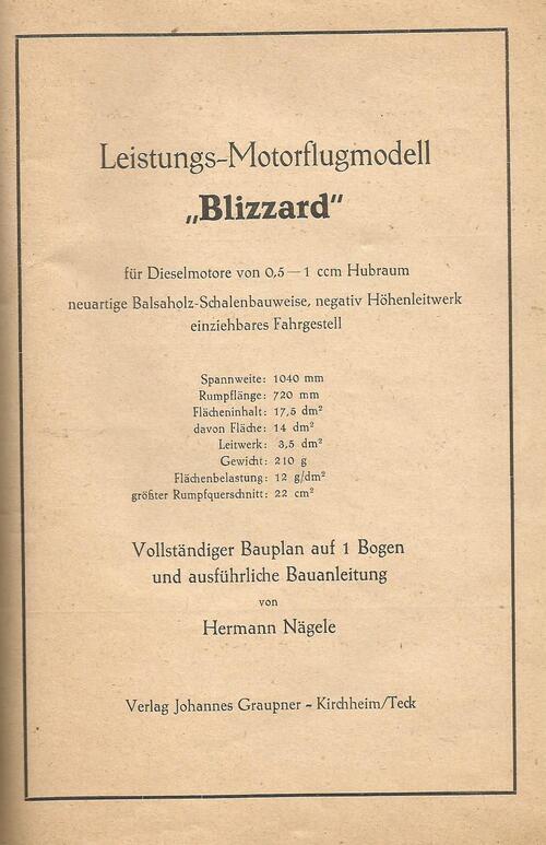 Plan du Blizzard