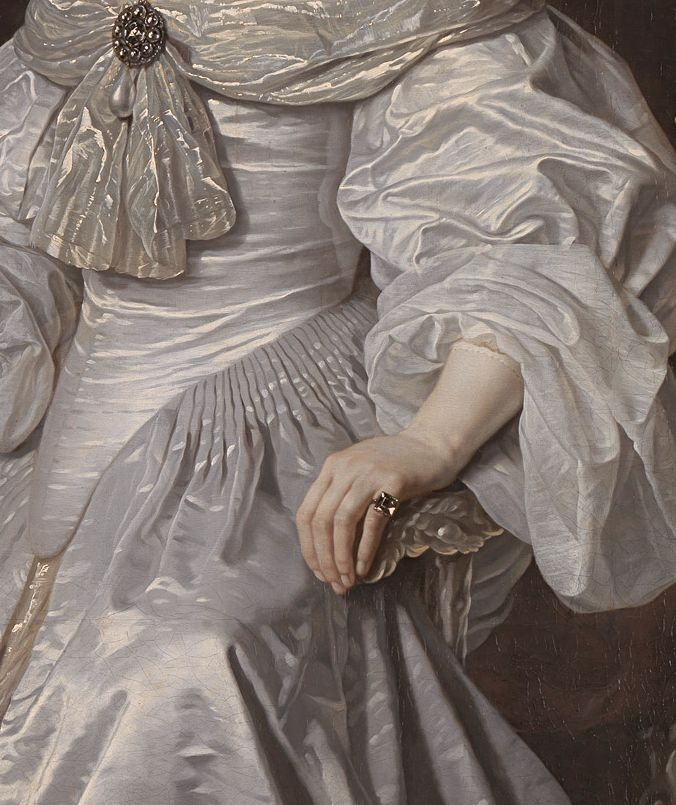 Bartholomeus van der Helst, Portrait of Mary, Princess Royal and Princess of Orange 1652