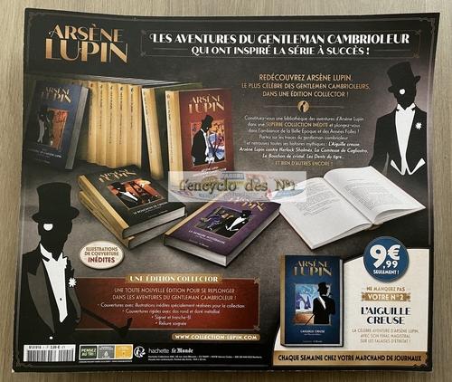 N° 1 Les romans Arsène Lupin - Lancement
