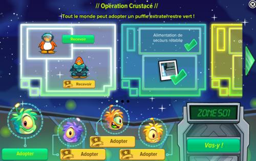 Guide opération crustacé