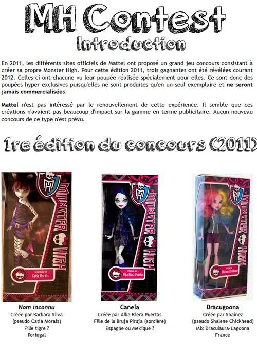 Monster High Contest !