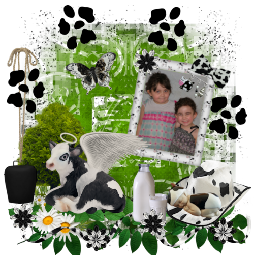 page ct du kit: My little cow