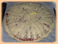 pizza lardons / raclette