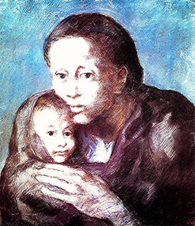 Picasso 12 / la période bleue (6) :