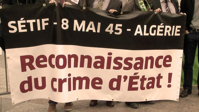 L'autre 8 mai 1945 : pour la reconnaissance par le Président de la République du crime d'Etat en Algérie  Rassemblement le 8 mai 2019  à 18h00, Place du Chatelet à Paris