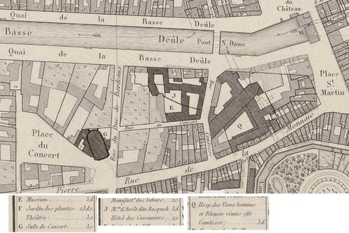 Raspuck (Plan de Lille, P.F. Rousseau, géom. du Cad., 1822)(gallica)