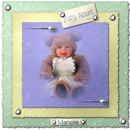 Scrap digital pur relief le enfants
