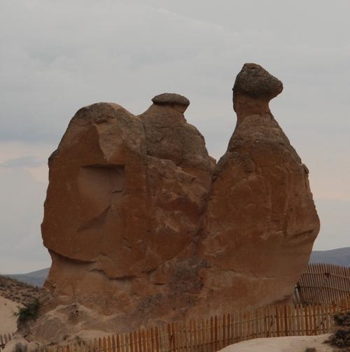 En Cappadoce, la vallée de Devrent