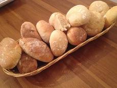 petits pains croustillants