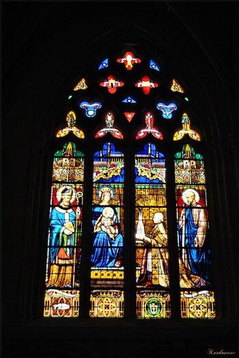 Série de vitraux de la cathédrale Saint-Corentin
