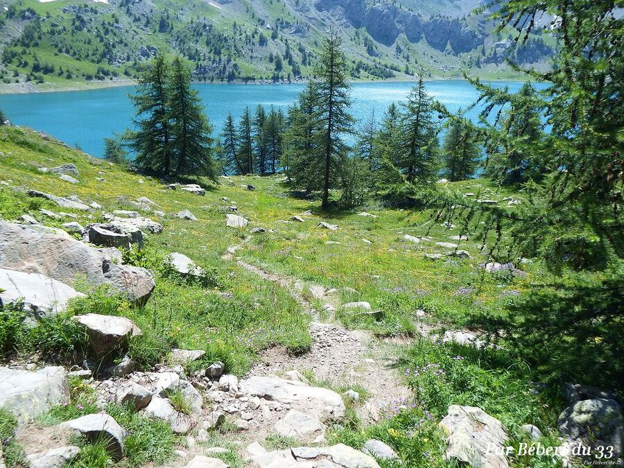 le lac d'Allos dept 04  (1)