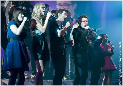 Photos de Jason au lancement du CD de Star académie