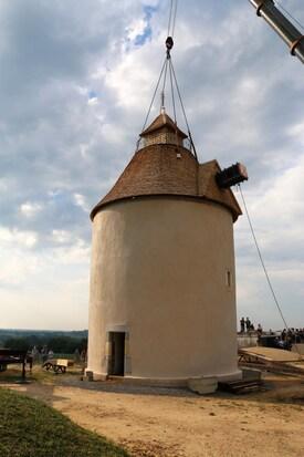 Le moulin à vent de Bénesse les Dax