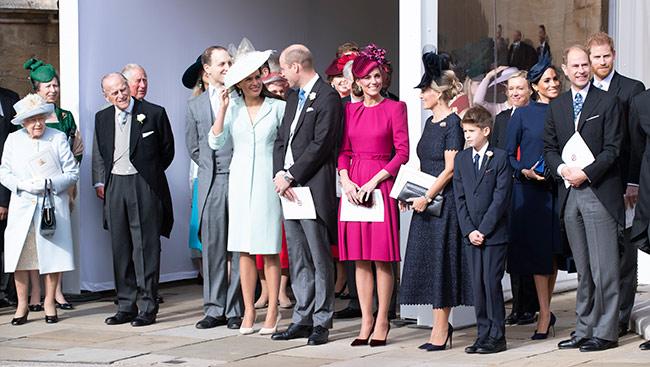 Les invités au mariage d'Eugénie