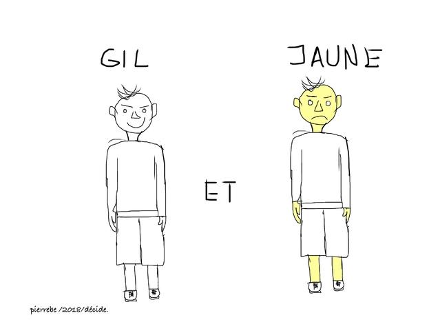 Gil et Jaune