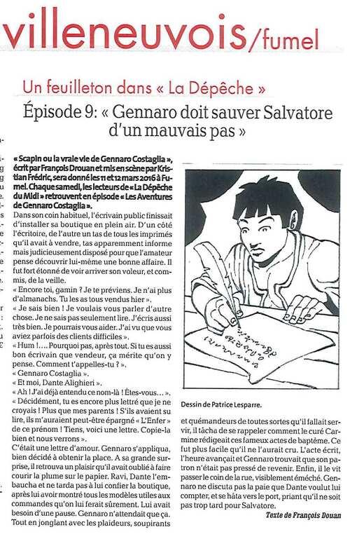 Les aventures de Gennaro Costagliola / Episode 9 / La dépêche