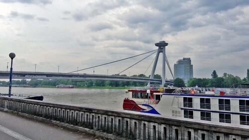 Au fil du Danube jusqu'à Budapest en camping car Juin 2016