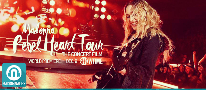 Le film du Rebel Heart Tour : le Trailer