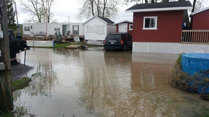 En raison des fortes pluies et de la marée haute... Importantes inondations à Québec