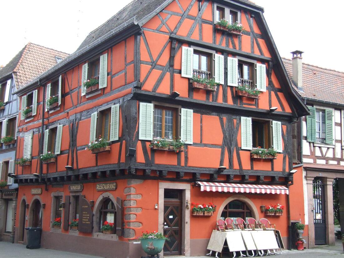 Alsace / des maisons à colombage   /3/