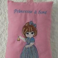 Princesse à bord