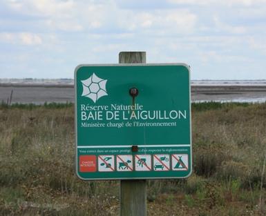 La pointe et baie de l'Aiguillon