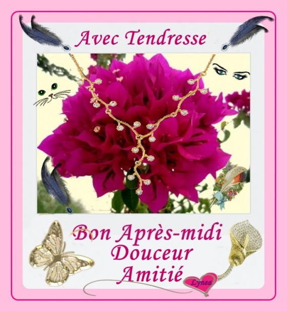 bon après-midi avec tendresse amitié fleur de lynea - BON APRES-MIDI-MATIN  - lynea18 - Photos - Club Doctissimo | Bon après midi, Après midi, Bonjour  bon lundi