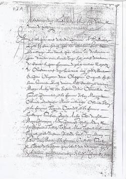 1556. Mynu et dénombrement du prieuré du Pont à Dinan.