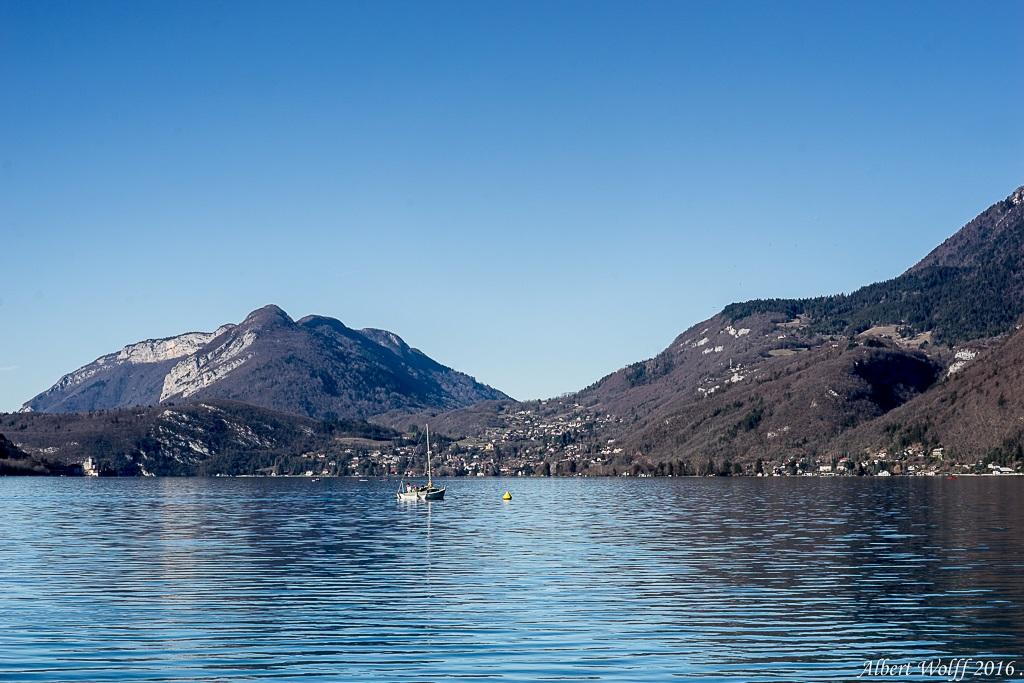 A un bout du lac - Annecy - 2