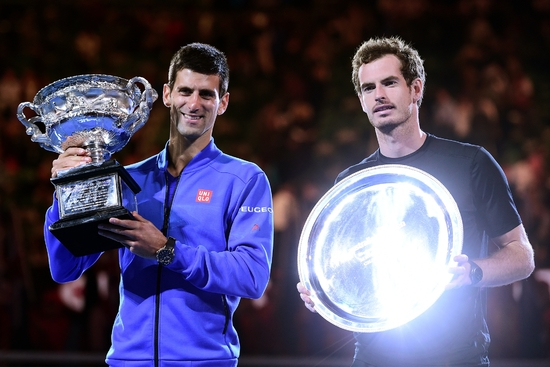 Djokovic-Murray, champions 2015