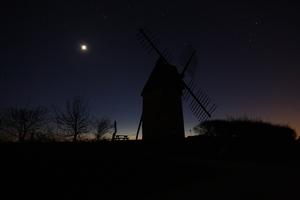 Vénus, la Lune et le Moulin