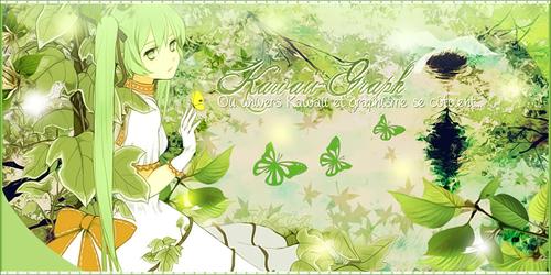 Bannière printemps Kawaii-Graph