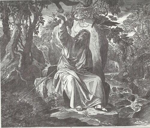 Le Prophète Elie- Julius Schnorr von Carolsfeld
