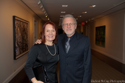 Colm Wilkinson and his wife Deirdre Wilkinson