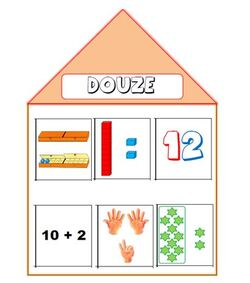 Maisons des nombres : 10 - 20