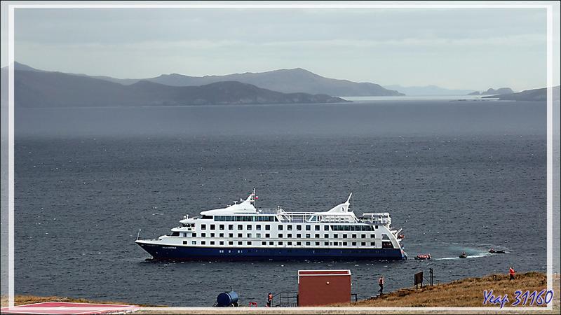 En fin de journée, embarquement sur le Stella Australis - Ushuaïa - Terre de Feu - Argentine