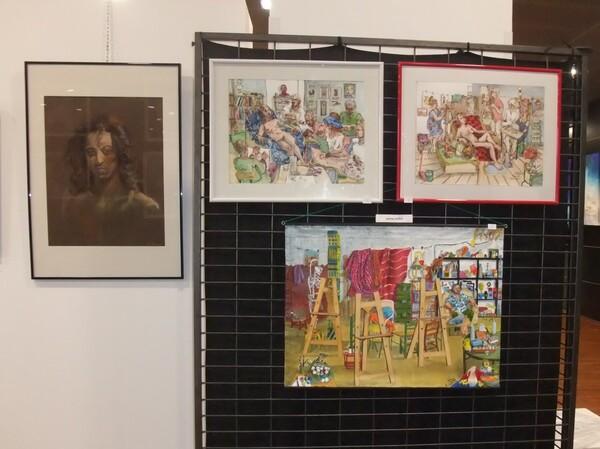 Mercredi - Images d'expo : Les scènes d'atelier (1)