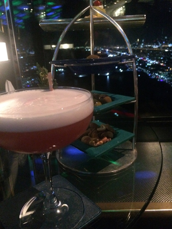 Cocktail au Burj Al Arab 7*