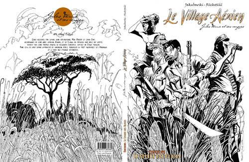 """Bon de souscription - """"Le Village aérien"""", édition limitée noir et blanc."""