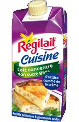 Nouveau partenariat gourmand : Régilait