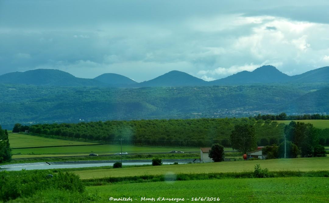 Les monts d'Auvergne