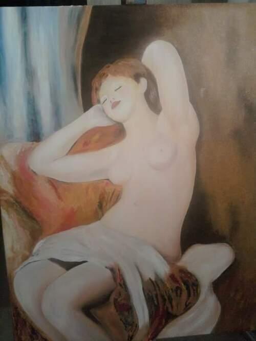la dormeuse de Renoir